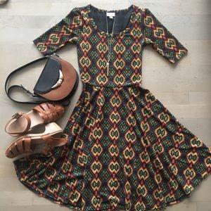 Aztec Lularoe Nicole Dress